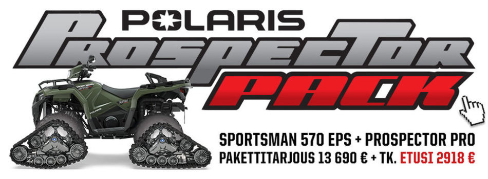 2021 Sportsman 570 EFI EPS 4×4 – T3B Prospector Pro