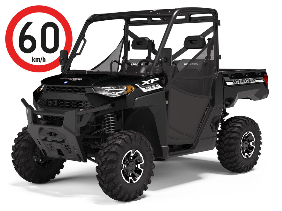 Polaris Ranger XP 1000 EPS – Black Pearl (Tractor T1b)