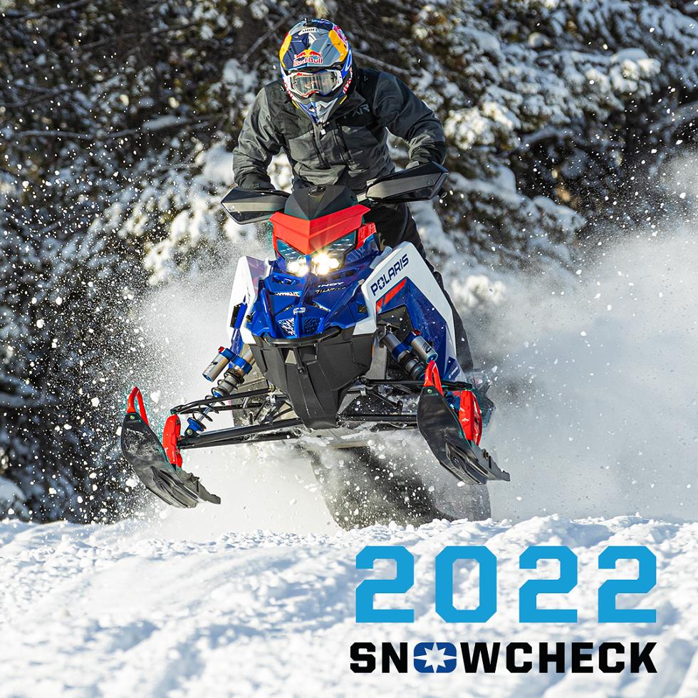 Polaris 2022 Snowcheck ennakkotilaukset
