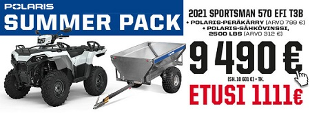 Polaris Sportsman 570 EFI Summer Pack 2021