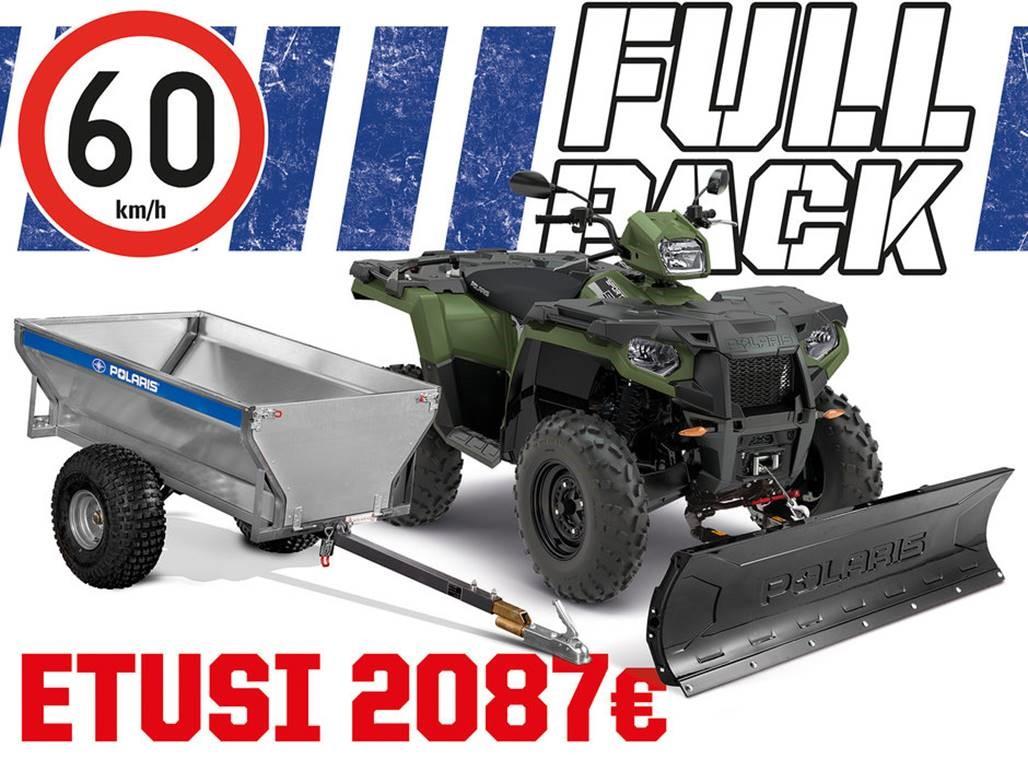 2020 Sportsman 570 EFI 4×4 – T3B Full Pack kampanja