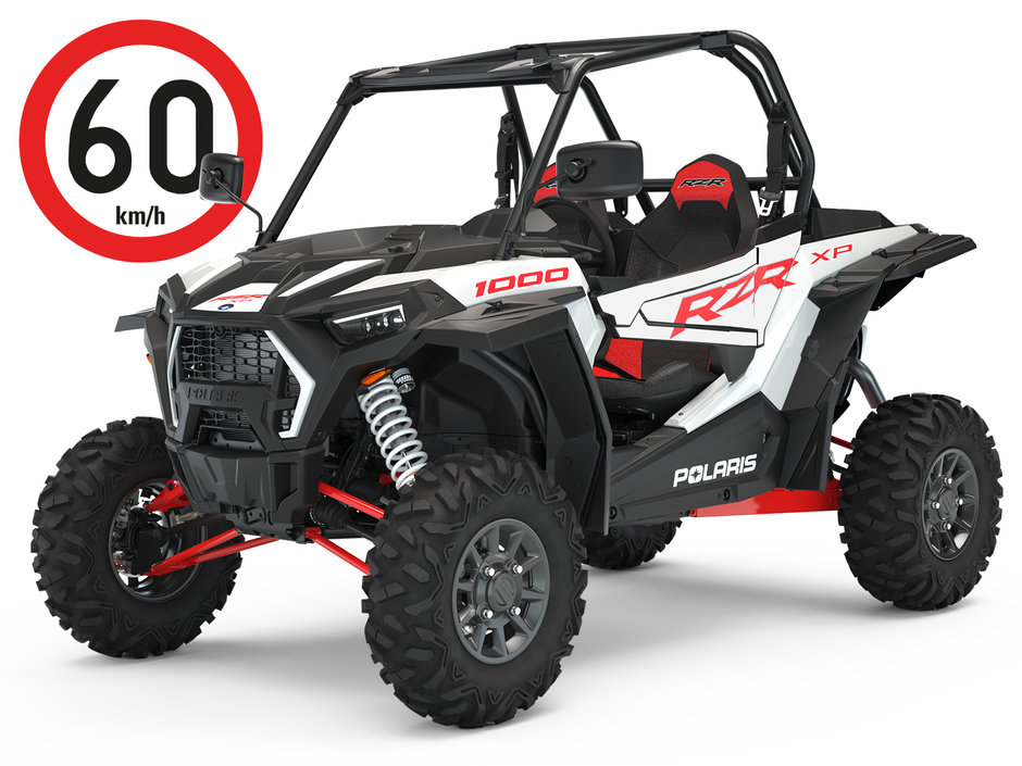 Polaris RZR 64 XP 1000 EPS – White Lightning – traktorimönkijä