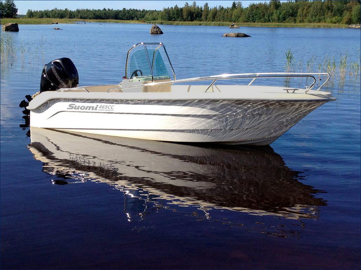 Suomi 465 CC / SC / TC moottorivene