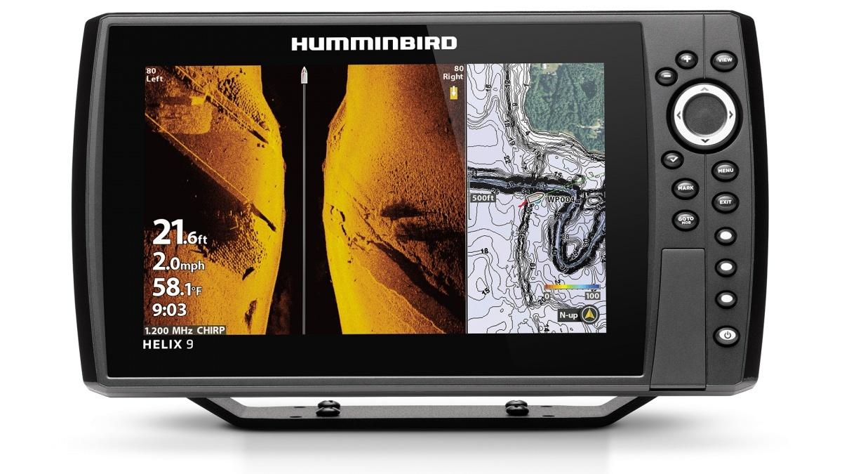 Humminbird Helix 9 Chirp Mega si gps g4n